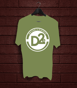 D2e - Army Green - White
