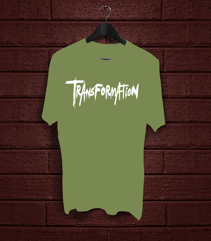 Transformation - Army Green - White