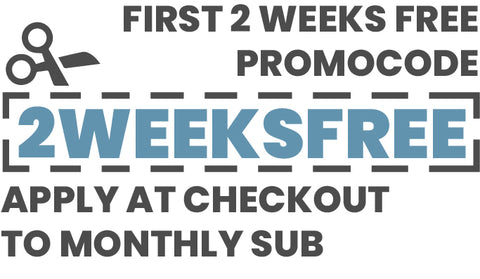 2 weeks of free coffee with one month subscription. Cancel anytime