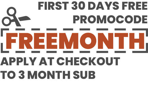 One Free Month of Coffee when you subscribe to 3 month billing