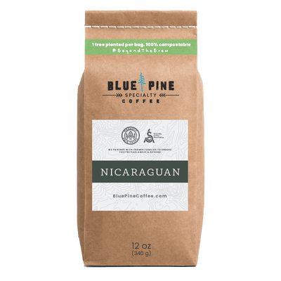 12 oz - Nicaraguan - Single Origin, Specialty Coffee, Organic, Fair Trade