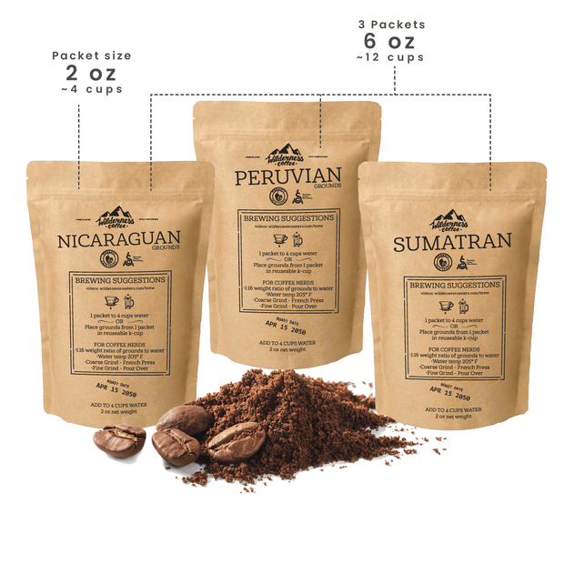 OCU Sample Pack | Fair trade, Organic, Specialty Coffee