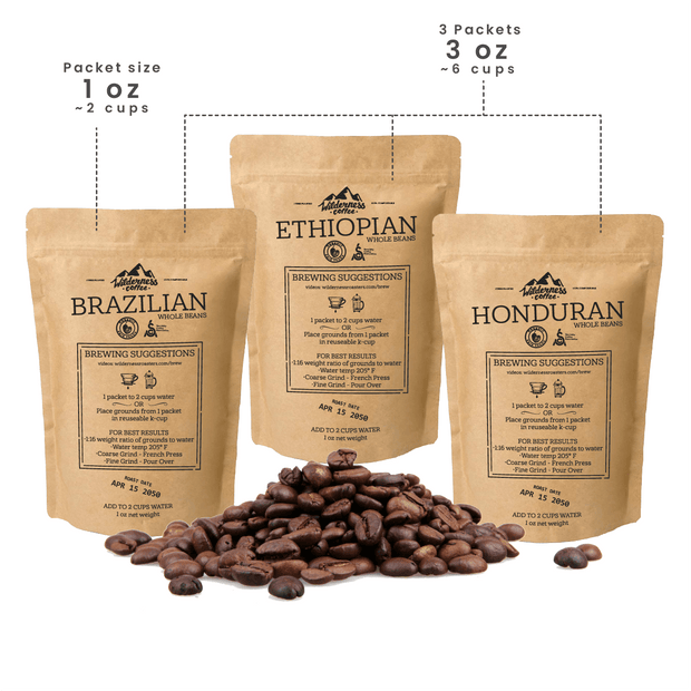 Free Sample Pack | Fair trade, Organic, Specialty Coffee