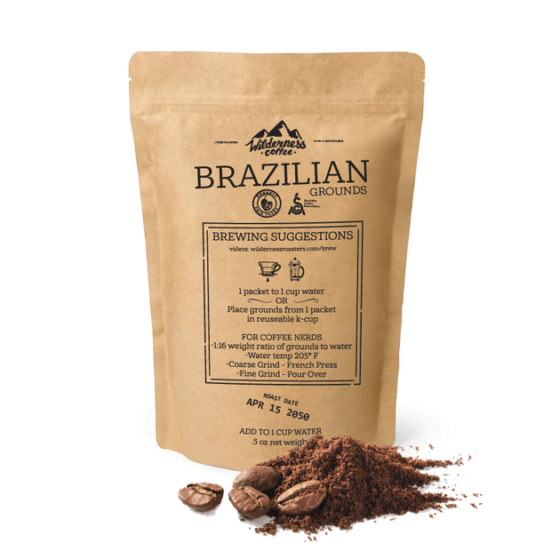 SAMPLE Brazilian Fair trade, Organic, Specialty Coffee