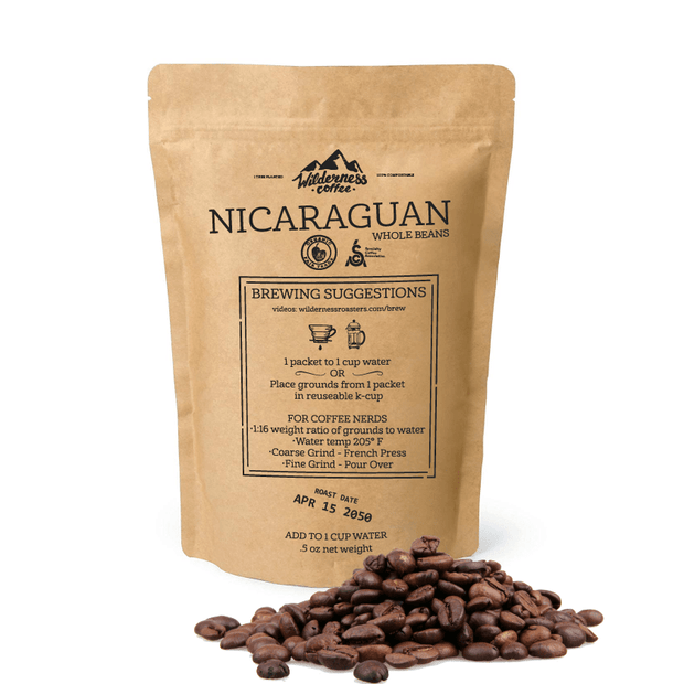 SAMPLE Nicaraguan Fair trade, Organic, Specialty Coffee