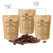 Sample Pack | Fair trade, Organic, Specialty Coffee