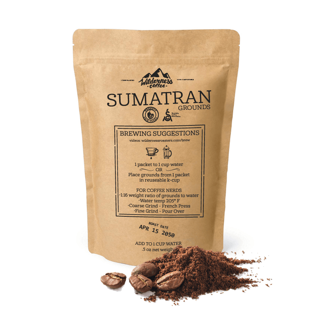 SAMPLE Sumatran Fair trade, Organic, Specialty Coffee
