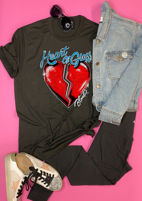 Heart of Glass  Graphic Tee