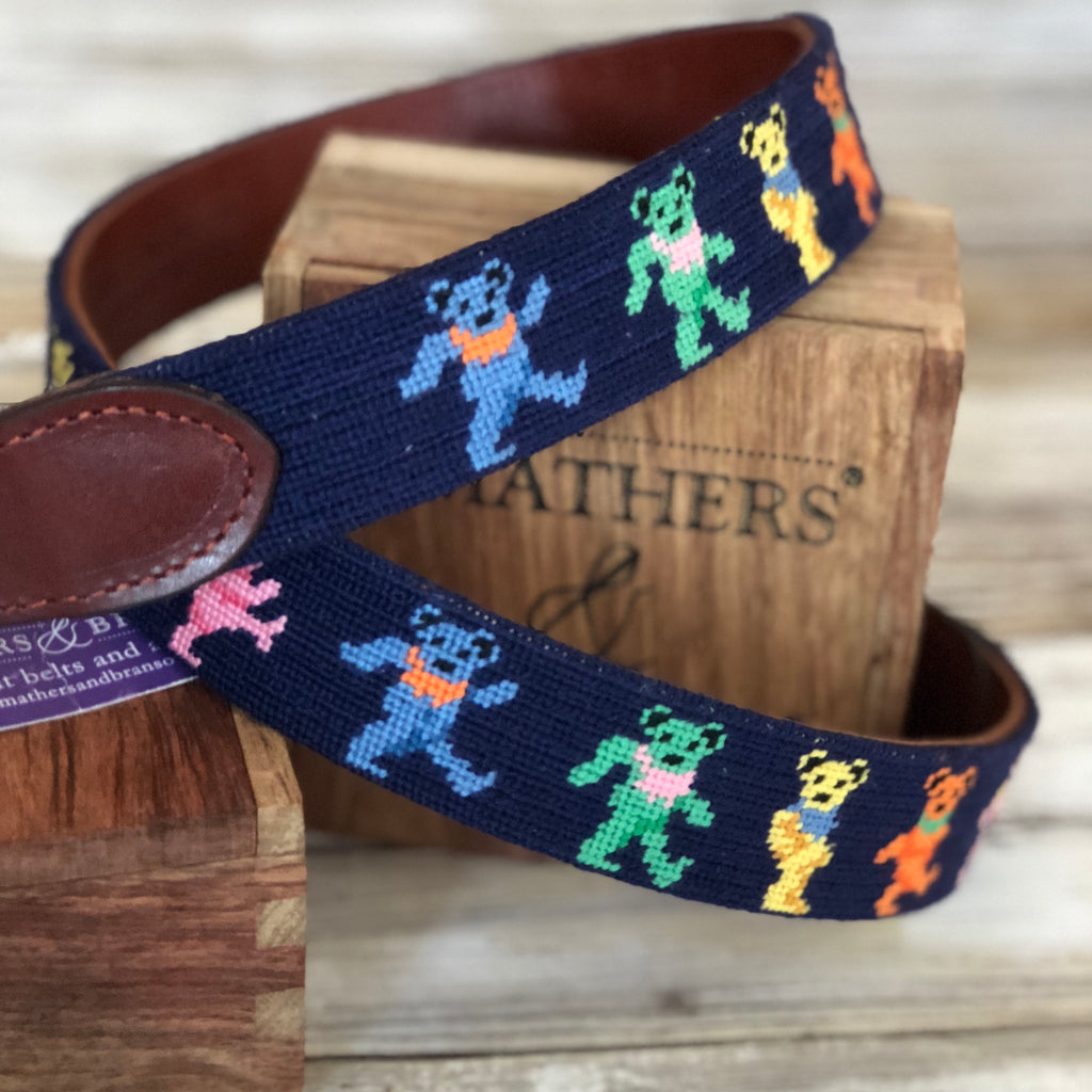 Dancing Bears Traditional Belt