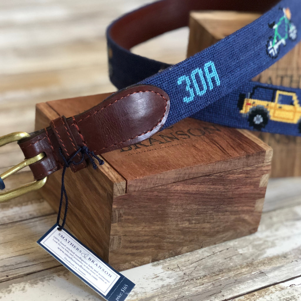 30A Custom Smathers and Branson Belt