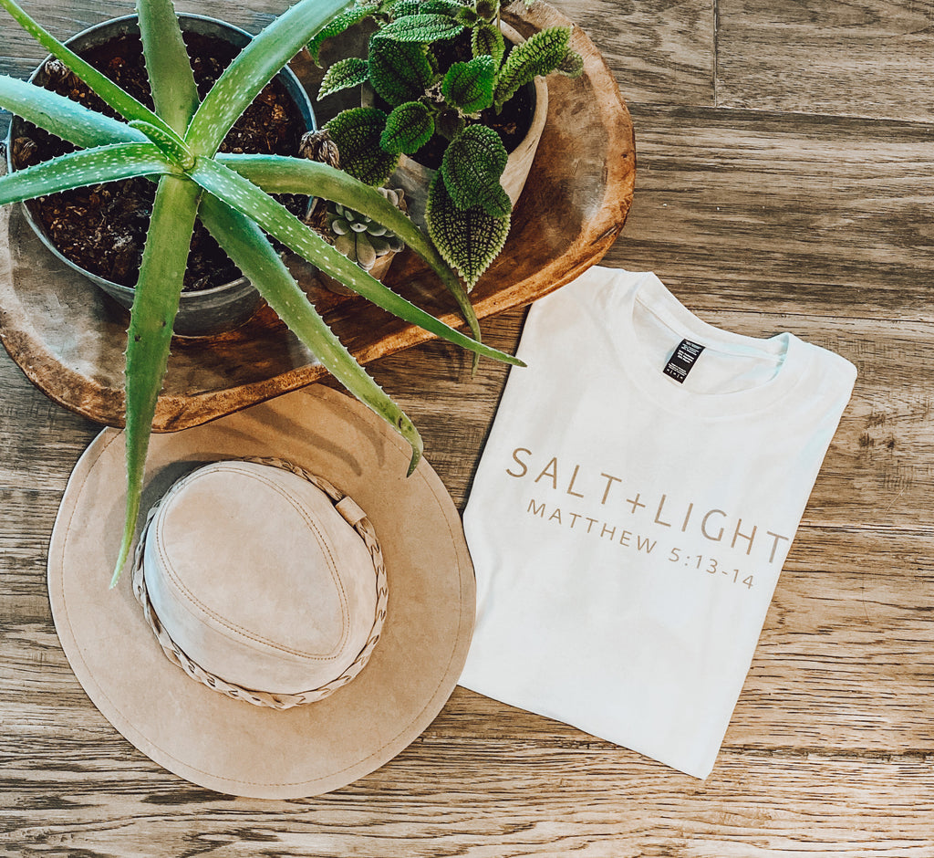 Salt + Light Tee