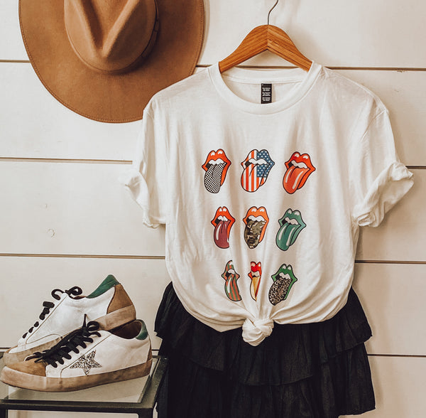 9 Tongue Graphic Tee