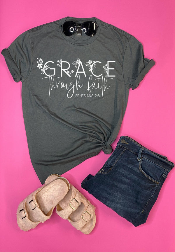 Grace Through Faith Tee