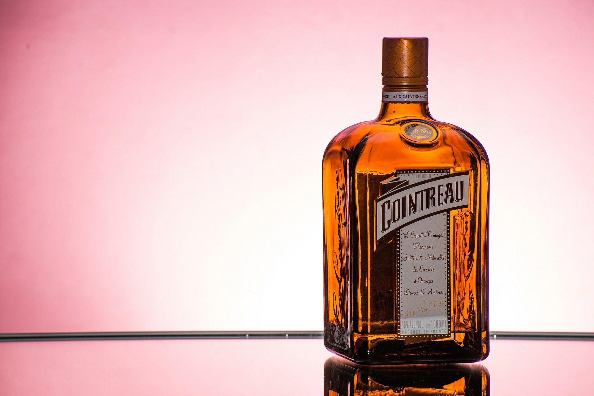 Cointreau is made from dried sweet orange peel