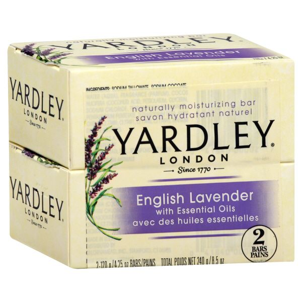 Yardley products were made with English Lavender essential oil