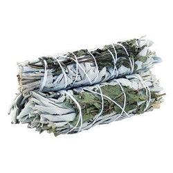 Smudge Stick - White Sage & Peppermint 10cm - All Over The Drop