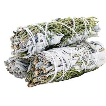 Smudge Stick - White Sage & Juniper 10cm - All Over The Drop