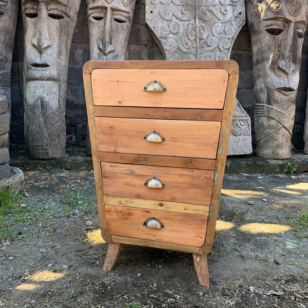4 Draws Storage - Recycled Wood