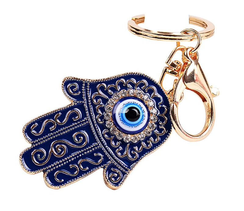 Hamsa Chunky Key Ring - All Over The Drop