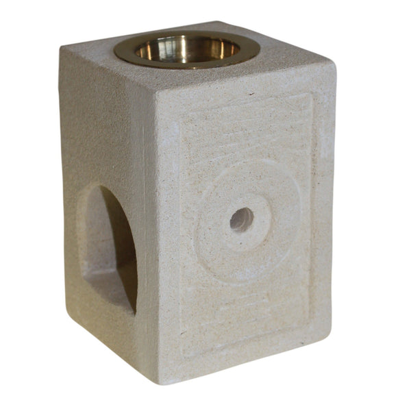 SandStone Oil Burner with Moorish Design - All Over The Drop