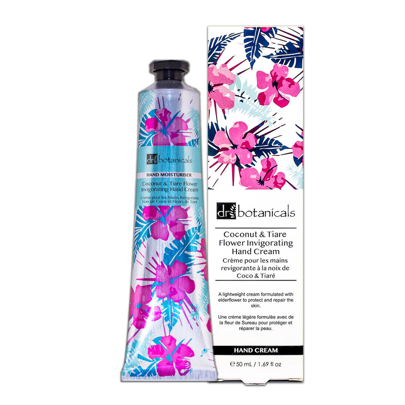 Coconut and Tiare Flower Invigorating  Hand Cream - All Over The Drop