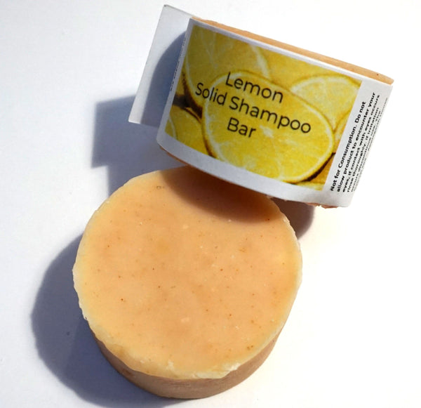 Lemon Shampoo Bar - All Over The Drop