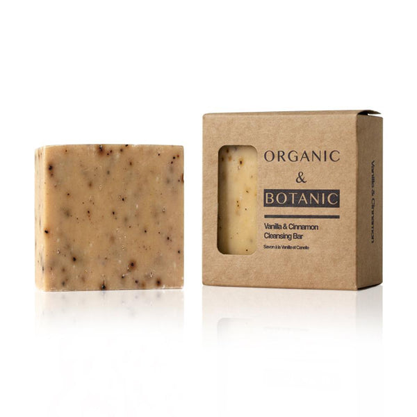 Vanilla & Cinnamon Vegan Soap Bar - All Over The Drop