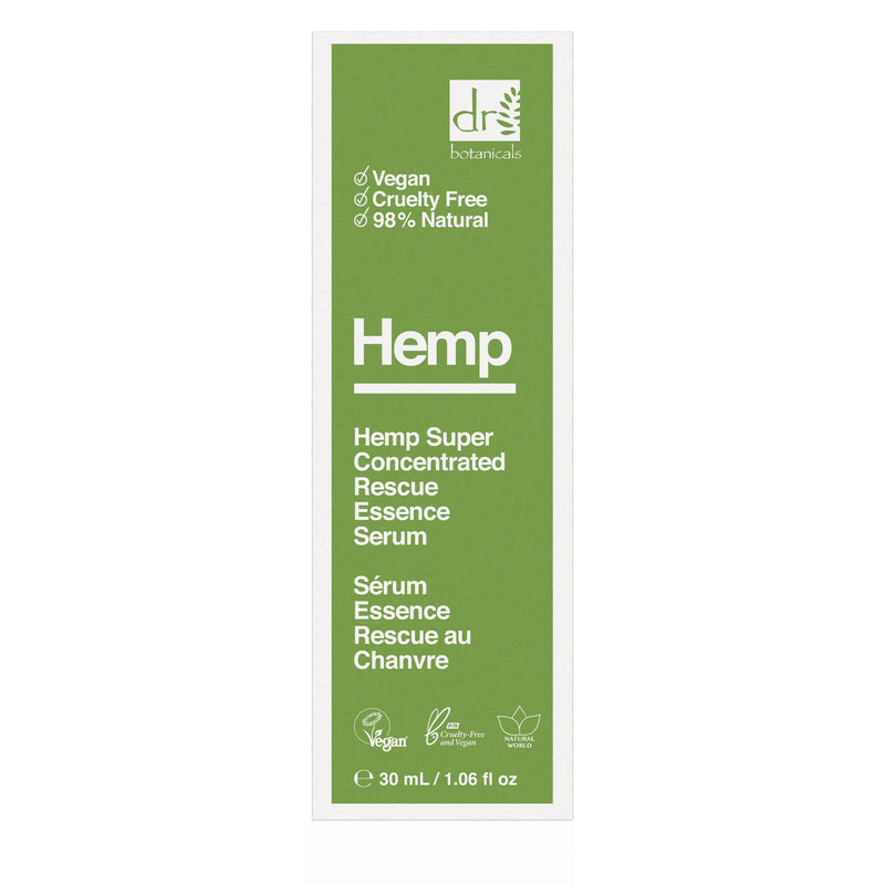 Hemp Super Concentrated Rescue Essence Serum 30ml - All Over The Drop