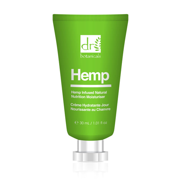 Hemp Infused Natural Moisturiser 30ml - All Over The Drop