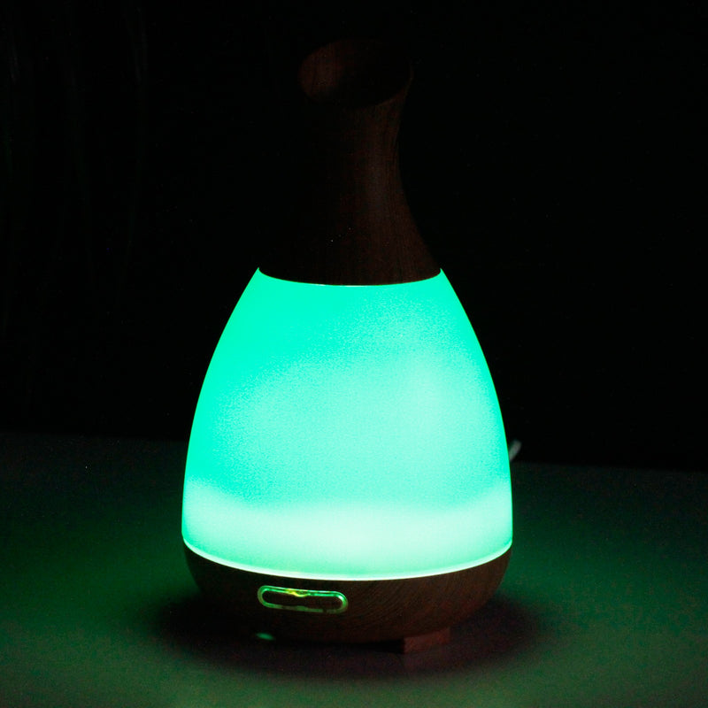 Essential Oil Funnel Atomiser with LED Lights - All Over The Drop
