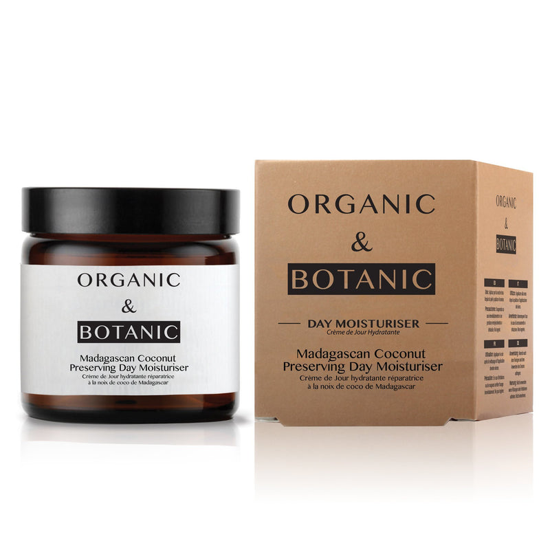Organic & Botanic Madagascan Coconut Preserving Day Cream - All Over The Drop