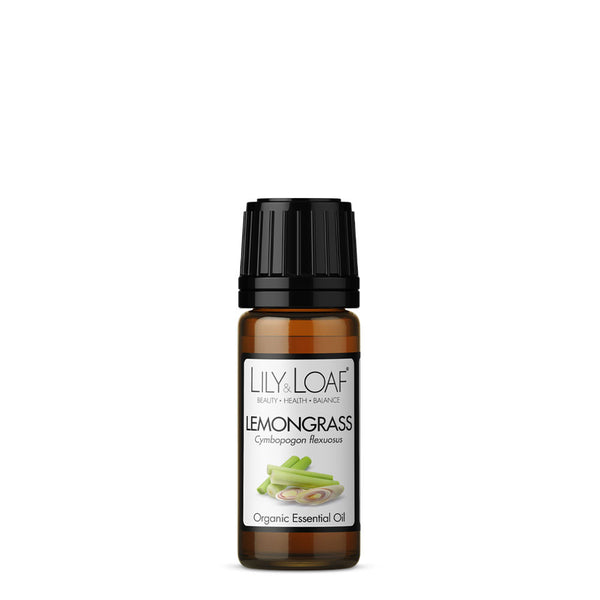 Lemongrass Organic Essential Oil 10ml