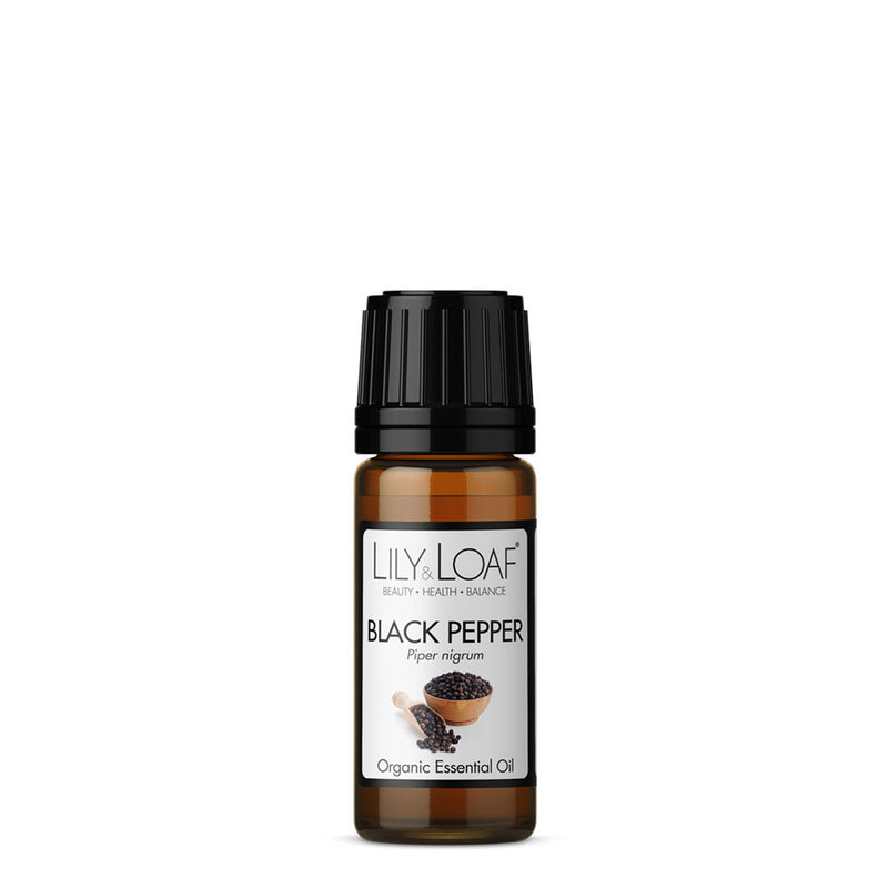 Black Pepper Organic Essential Oil 10ml - All Over The Drop