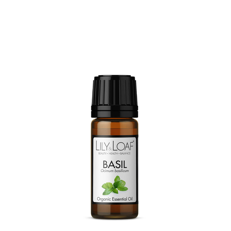 Basil Organic Essential Oil 10ml - All Over The Drop