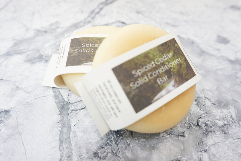 Spiced Cedar Conditioner Bar - All Over The Drop