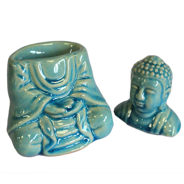 Blue Buddha Essential Oil Burner - All Over The Drop
