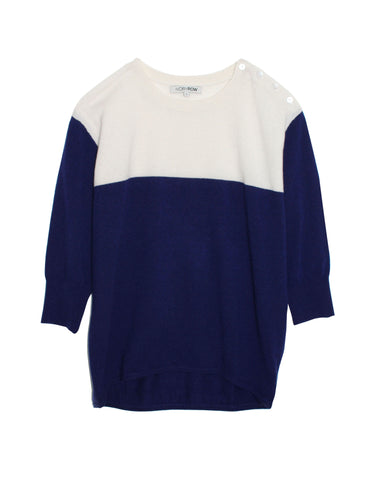 Color-Block Cashmere