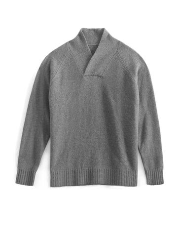 Men's Shawl Collar Cashmere Sweater