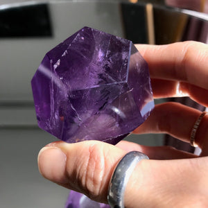 Amethyst dodecahedron geo