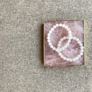 Rose Quartz Coaster