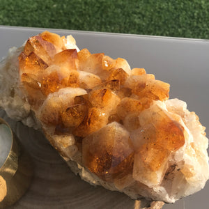 Big Point Citrine Clusters