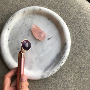 Amethyst Facial Massager