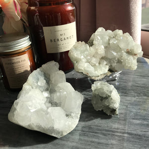 Apophyllite clusters -R2