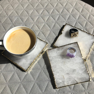 Clear Quartz Coaster