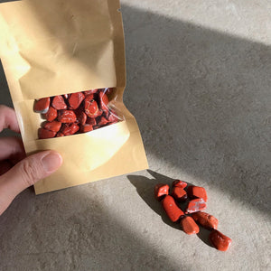 Red Jasper Chips Set