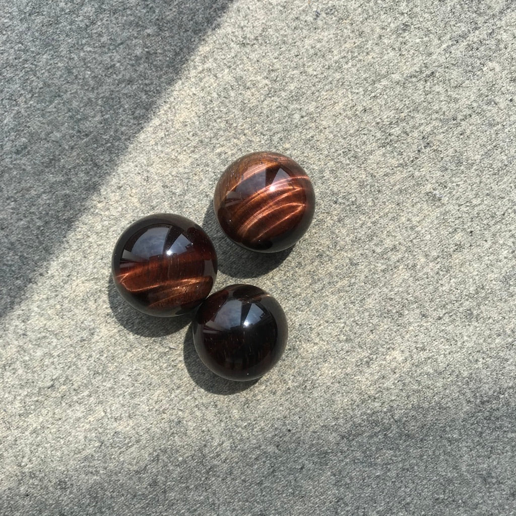 Mini Tiger's eye sphere