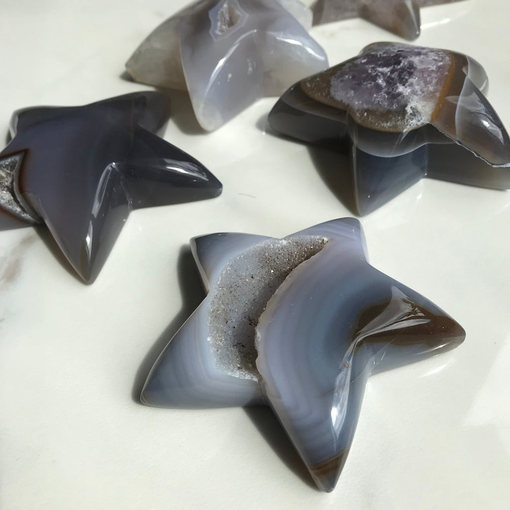 Shaped Agate Star #1