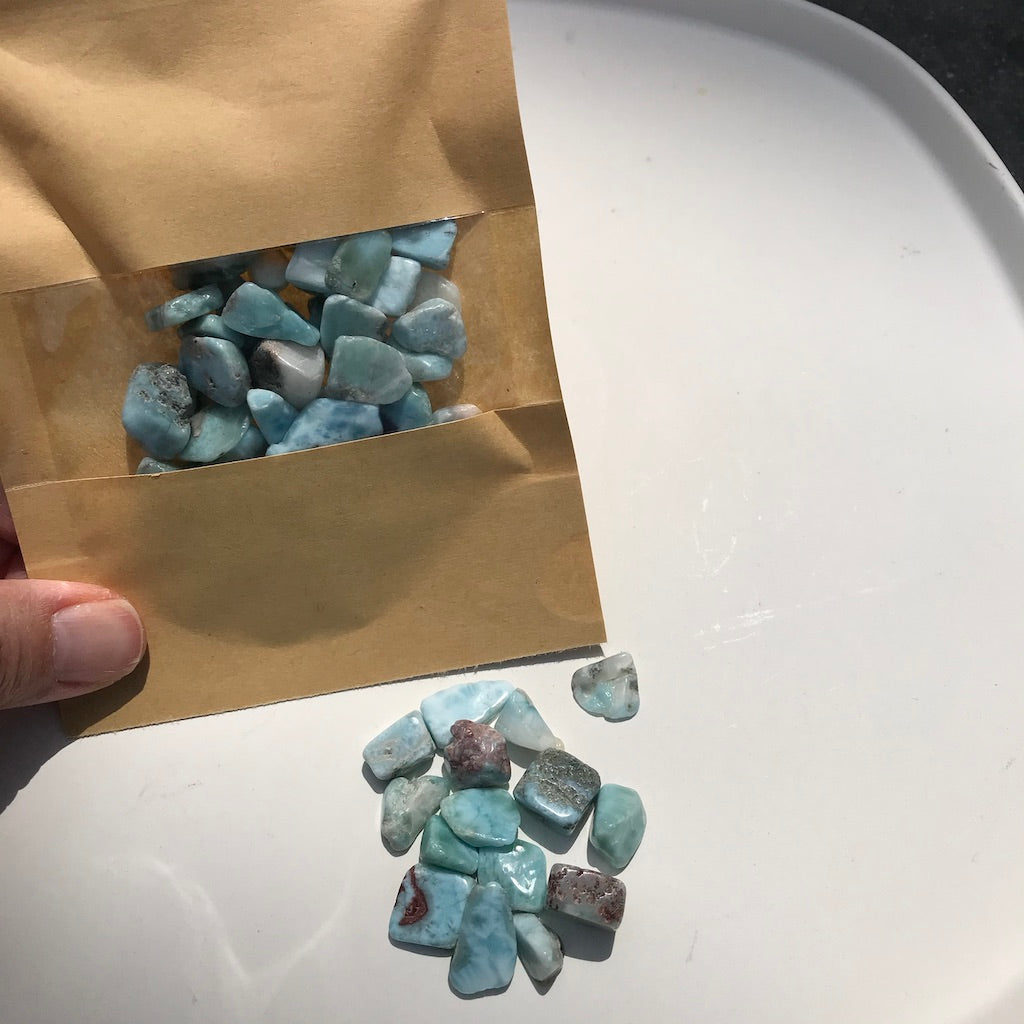 Larimar Chips Set
