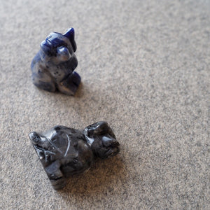 Mini Crystal Dogs