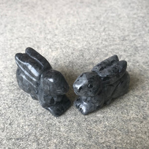 Crystal Rabbit Carvings